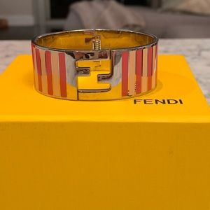 Authentic Fendi Cuff